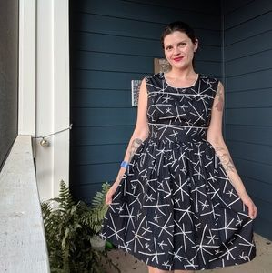 NWT Mid-century Inspired Dress